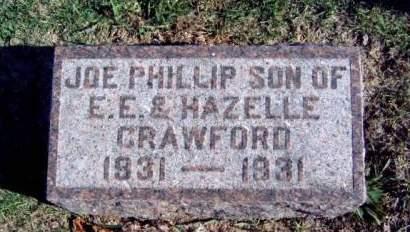 CRAWFORD, JOE PHILLIP - Madison County, Iowa   JOE PHILLIP CRAWFORD