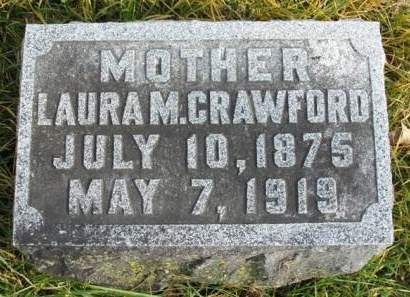 CRAWFORD, LAURA MAY - Madison County, Iowa | LAURA MAY CRAWFORD