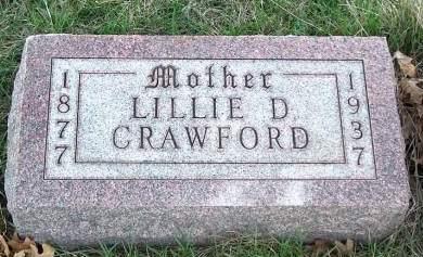 CRAWFORD, LILLIE DALE - Madison County, Iowa | LILLIE DALE CRAWFORD