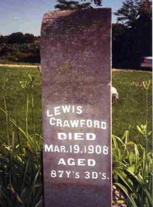 CRAWFORD, LEWIS - Madison County, Iowa | LEWIS CRAWFORD