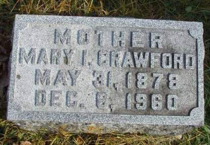 CRAWFORD, MARY ISABELLE - Madison County, Iowa | MARY ISABELLE CRAWFORD