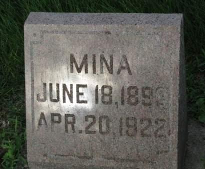 CRAWFORD, MINA PEARL - Madison County, Iowa | MINA PEARL CRAWFORD