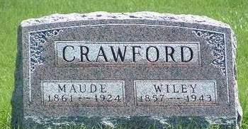 CRAWFORD, EVA MAUDE - Madison County, Iowa | EVA MAUDE CRAWFORD