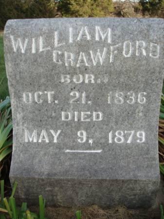 CRAWFORD, WILLIAM - Madison County, Iowa | WILLIAM CRAWFORD
