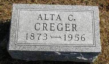 CREGER, ALTA CARRIE - Madison County, Iowa | ALTA CARRIE CREGER
