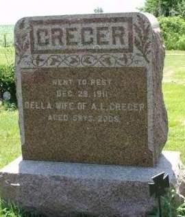 CREGER, ADELLA A. - Madison County, Iowa | ADELLA A. CREGER