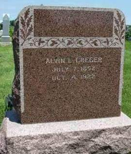 CREGER, ALVIN LEE - Madison County, Iowa | ALVIN LEE CREGER
