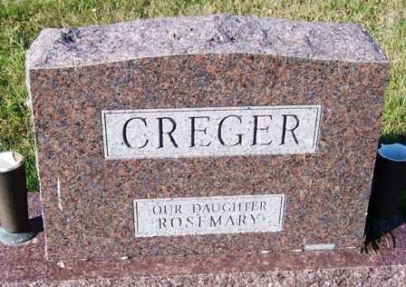 CREGER, FAMILY HEADSTONE - Madison County, Iowa | FAMILY HEADSTONE CREGER