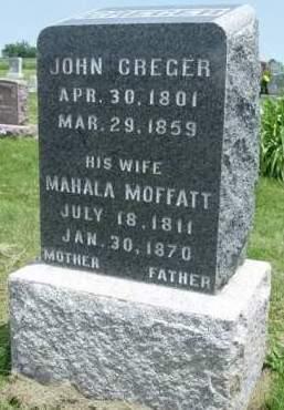 CREGER, JOHN - Madison County, Iowa | JOHN CREGER