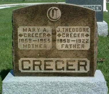 CREGER, JAMES THEODORE - Madison County, Iowa | JAMES THEODORE CREGER