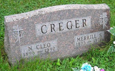 CREGER, NOLA CLEO - Madison County, Iowa   NOLA CLEO CREGER