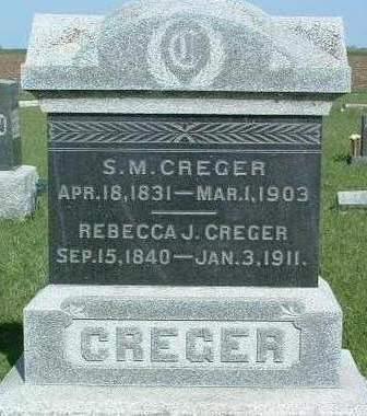 CREGER, SAMUEL MERRILL - Madison County, Iowa | SAMUEL MERRILL CREGER