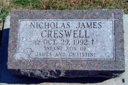 CRESWELL, NICHOLAS JAMES - Madison County, Iowa | NICHOLAS JAMES CRESWELL
