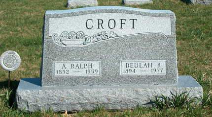 CROFT, AUSTIN RALPH - Madison County, Iowa | AUSTIN RALPH CROFT
