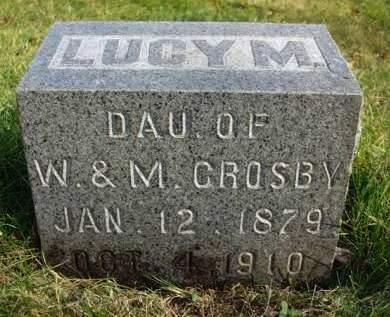 CROSBY, LUCY MAE - Madison County, Iowa | LUCY MAE CROSBY