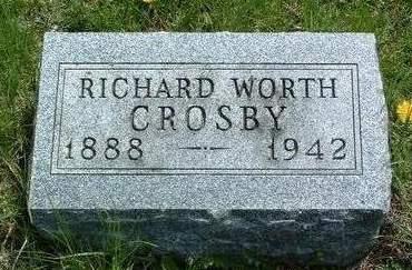 CROSBY, RICHARD WORTH - Madison County, Iowa | RICHARD WORTH CROSBY