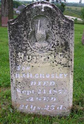 CROSLEY, RUBEN C. - Madison County, Iowa   RUBEN C. CROSLEY