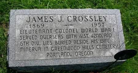CROSSLEY, JAMES JUDSON - Madison County, Iowa | JAMES JUDSON CROSSLEY