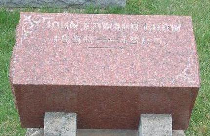 CROW, JOHN EDWARD - Madison County, Iowa | JOHN EDWARD CROW
