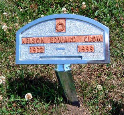 CROW, NELSON EDWARD - Madison County, Iowa | NELSON EDWARD CROW