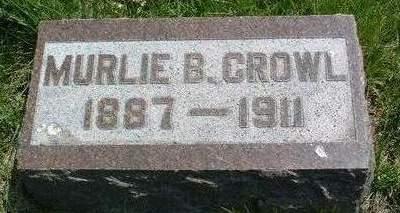 CROWL, MURLIE IREAN - Madison County, Iowa | MURLIE IREAN CROWL
