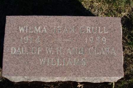 CRULL, WILMA JEAN - Madison County, Iowa   WILMA JEAN CRULL
