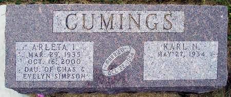 CUMINGS, ARLETA I. - Madison County, Iowa | ARLETA I. CUMINGS