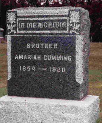 CUMMINS, AMARIAH B. - Madison County, Iowa | AMARIAH B. CUMMINS