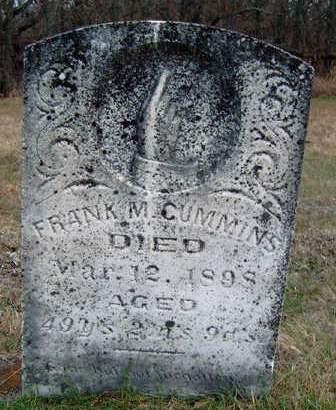 CUMMINS, FRANCIS MARION (FRANK) - Madison County, Iowa | FRANCIS MARION (FRANK) CUMMINS