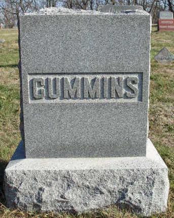 CUMMINS, FAMILY STONE - Madison County, Iowa | FAMILY STONE CUMMINS