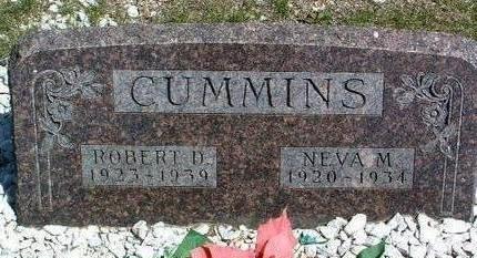 CUMMINS, NEVA MARIE - Madison County, Iowa | NEVA MARIE CUMMINS