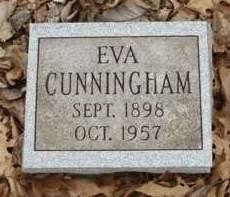 CUNNINGHAM, EVA EITHEL - Madison County, Iowa | EVA EITHEL CUNNINGHAM