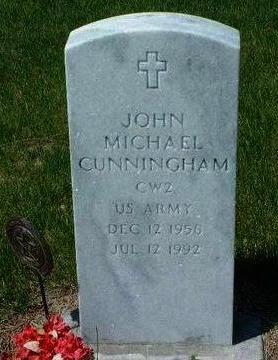 CUNNINGHAM, JOHN MICHAEL - Madison County, Iowa | JOHN MICHAEL CUNNINGHAM