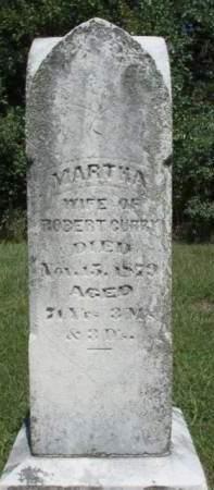 CURRY, MARTHA - Madison County, Iowa   MARTHA CURRY