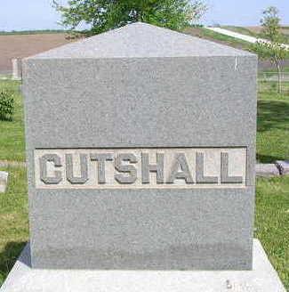 CUTSHALL, FAMILY HEADSTONE - Madison County, Iowa   FAMILY HEADSTONE CUTSHALL
