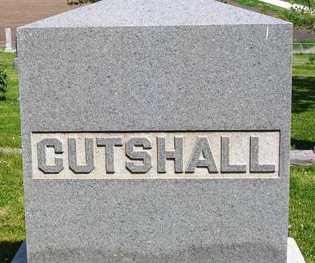 CUTSHALL, FAMILY HEADSTONE - Madison County, Iowa | FAMILY HEADSTONE CUTSHALL