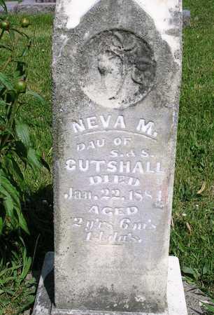 CUTSHALL, NEVA M. - Madison County, Iowa | NEVA M. CUTSHALL