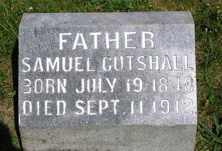CUTSHALL, SAMUEL - Madison County, Iowa   SAMUEL CUTSHALL