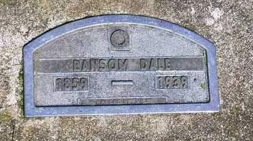 DALE, RANSOM - Madison County, Iowa | RANSOM DALE