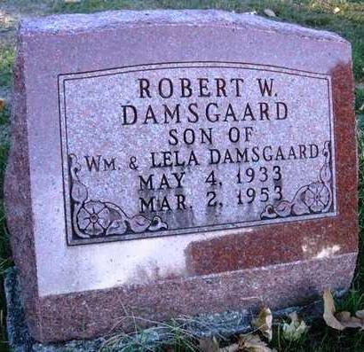 DAMSGAARD, ROBERT W. - Madison County, Iowa | ROBERT W. DAMSGAARD