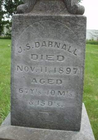 DARNALL, JOHN S. - Madison County, Iowa   JOHN S. DARNALL