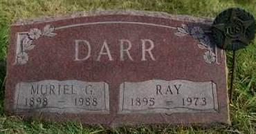 DARR, MURIEL GRACE - Madison County, Iowa | MURIEL GRACE DARR