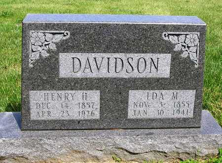 DAVIDSON, HENRY H. - Madison County, Iowa | HENRY H. DAVIDSON
