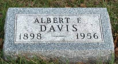 DAVIS, ALBERT F. - Madison County, Iowa | ALBERT F. DAVIS