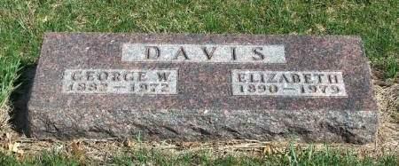 DAVIS, GEORGE WILSON - Madison County, Iowa | GEORGE WILSON DAVIS