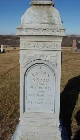 DAVIS, HENRY C. - Madison County, Iowa | HENRY C. DAVIS