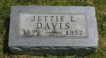 DAVIS, JETTIE L. - Madison County, Iowa | JETTIE L. DAVIS