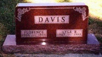 DAVIS, FLORENCE JOSEPHINE - Madison County, Iowa | FLORENCE JOSEPHINE DAVIS