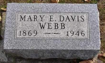 WEBB, MARY E. - Madison County, Iowa | MARY E. WEBB