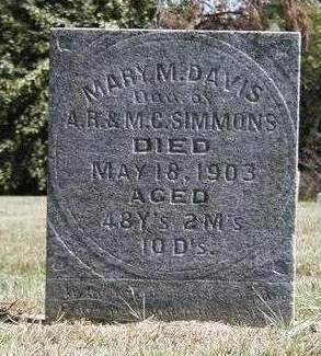 DAVIS, MARY MARIE - Madison County, Iowa | MARY MARIE DAVIS